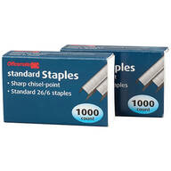Officemate® OIC® Standard Staples, Set of 2000