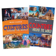 Around the World Word Search Puzzles, Set of 2