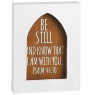 Bible Passage Wood Shadow Box