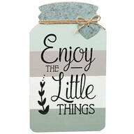 Mason Jar Little Things Wall Décor