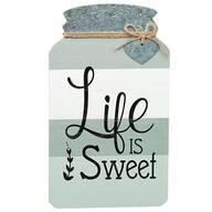 Mason Jar Life Is Sweet Wall Décor