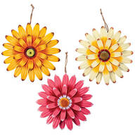 Metal Daisies, Set of 3 by Fox River™ Creations