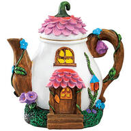 Resin Solar Teapot Statue by Fox River™ Creations
