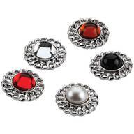 Decorative Accent Pins, Set of 5