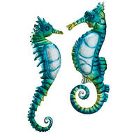 Seahorse Metal Hangings by Fox River™ Creations, Set of 2
