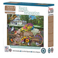 Rest & Relaxation Bed & Breakfast Puzzle, 550 pieces
