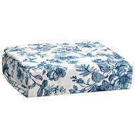Bed Tite Microfiber Sheets Toile Blue