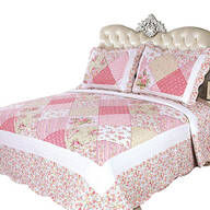 Emily's Rose 3-Piece Quilt Set