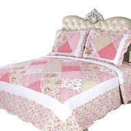 Emily's Rose 3 Pc Quilt Set