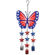 Patriotic Butterfly Wind Chime by Fox River™ Creations