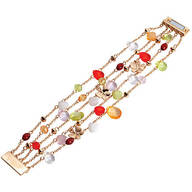 Colorful Multistrand Bracelet