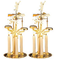 Angel Abra Carousel and Candles, Set of 2