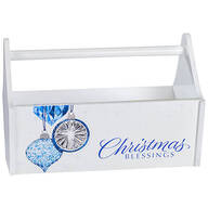 Reflections Christmas Blessings Trough Caddy