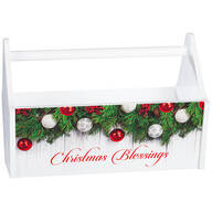 Garlands Christmas Blessings Trough Caddy
