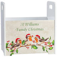 Personalized Bird with Hats Tall Caddy