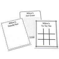 Personalized Activity Notepads, Set of 3