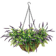 Fully Assembled Lavender Hanging Basket by OakRidge™