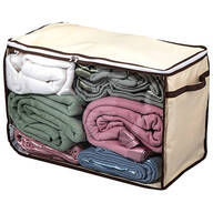 Jumbo Wheeled Storage Bag with Clear Window