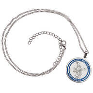 Personalized St. Michael Medallion Necklace