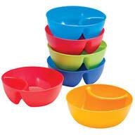 Individual Snack & Dip Bowls, Set of 6