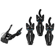 Cat Bag Clips, Set of 4