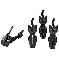 Cat Bag Clips, Set of 4