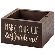 """Drink Up"" Plastic Cup Holder"