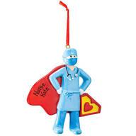 Personalized Super Nurse Ornament