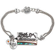 Inspirational Abalone Bracelets