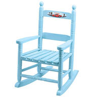 Personalized Racecar Children's Rocking Chair