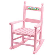 Personalized Princess Children's Rocking Chair