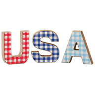 USA Wood Tabletop Blocks by Holiday Peak™