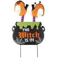 """""""The Witch Is In"""" Metal Stake by Fox River™ Creations"""