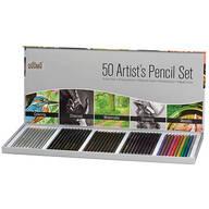 50-Piece Artist Pencil Set