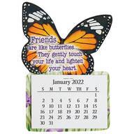 Large Butterfly Magnet Calendar