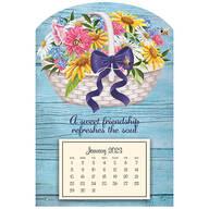 Basket of Flowers Mini-Mag