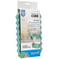 Polar Ice™ Cube No Spill Honeycomb Ice Tray With Lid