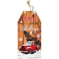 Reversible Christmas Wall Tag by Holiday Peak™