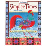 Jim Shore Simpler Times Coloring Book