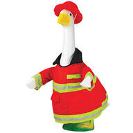 Firefighter Goose Outfit