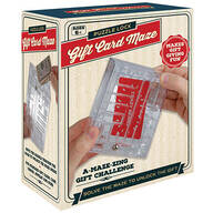 Puzzle Lock Gift Card Maze