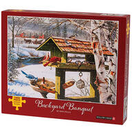 Backyard Banquet Jigsaw Puzzle, 1000 Pieces