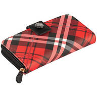 B.Amici™ Expressions Saffiano Plaid Multi-Function Wallet