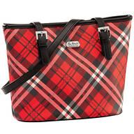 B.Amici™ Expressions Saffiano Plaid Tote Bag