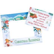 Christmas Magnetic Photo Frame