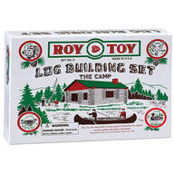 Roy Toy Log Building Set – The Camp