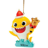 Personalized Baby Shark™ Ornament