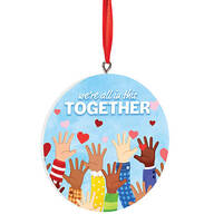 We're All in this Together Ornament