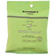 Hammonds® Candies Natural Sour Balls, 4 oz.