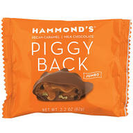Hammonds® Jumbo Pecan Caramel Piggy Back